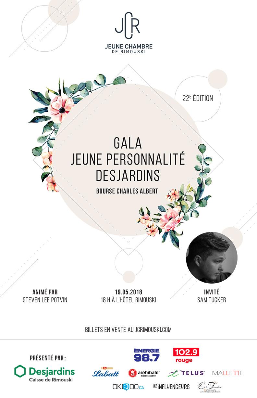 22e Gala Jeune personnalité Desjardins